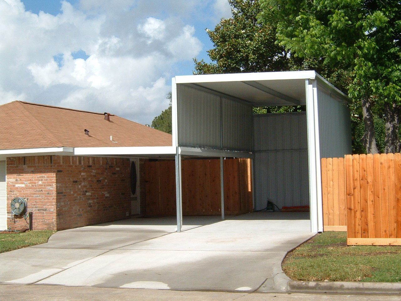 Rv Carports Texas : Carports of texas rv covers protect your investment